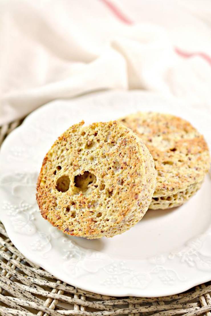 Keto English Muffin Breakfast Sandwich