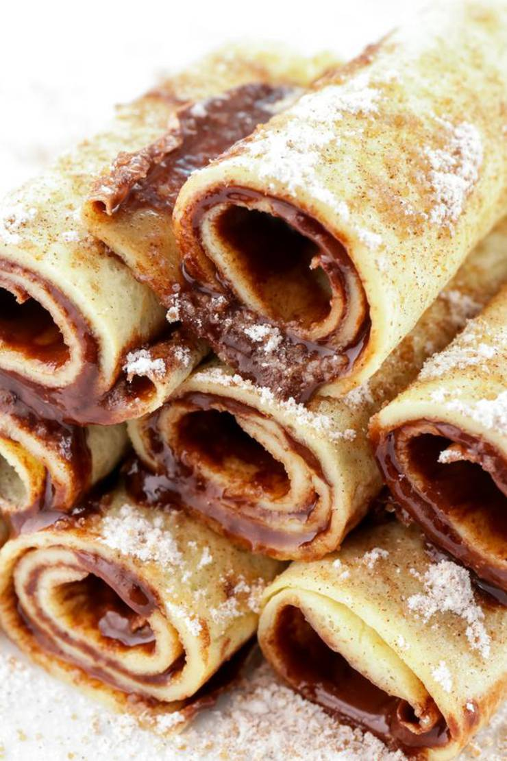 BEST Keto French Toast Nutella Roll Ups - Low Carb Keto ...