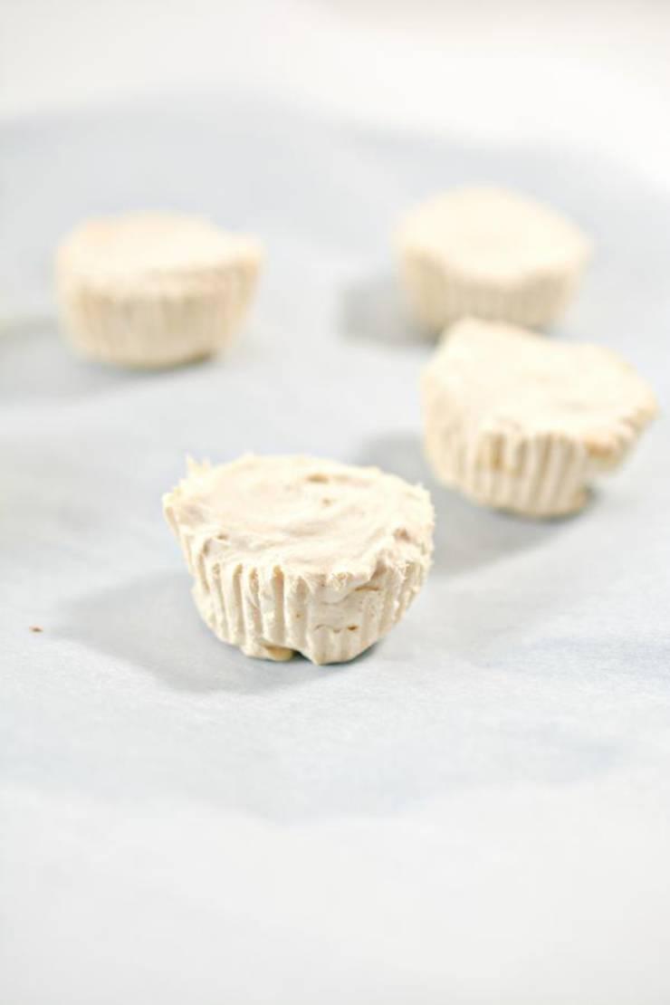 Keto Frozen Peanut Butter Cups