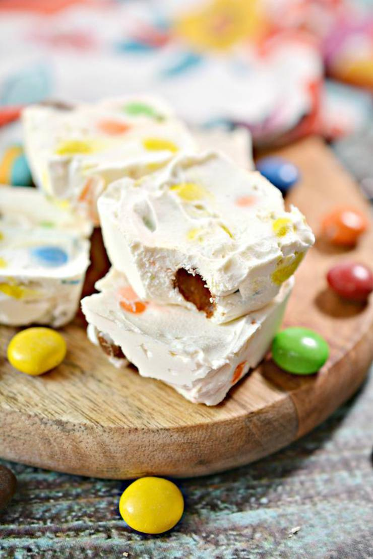 5 Ingredient Keto M & M Candy Cheesecake Fat Bombs – BEST M & M Candy Cream Cheese Fat Bombs – NO Bake – Easy Low Carb Recipe – Ketogenic Diet Friendly & Beginner – Desserts – Snacks