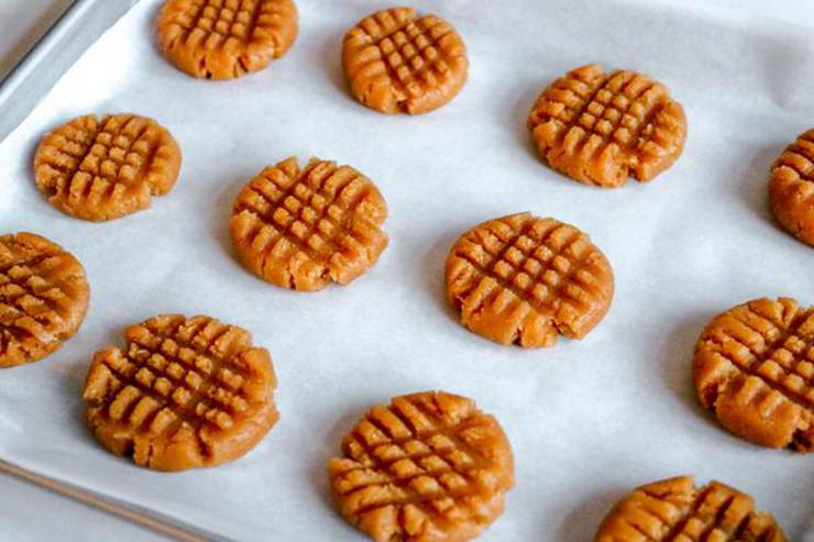 Keto Peanut Butter Cookies_Low Carb
