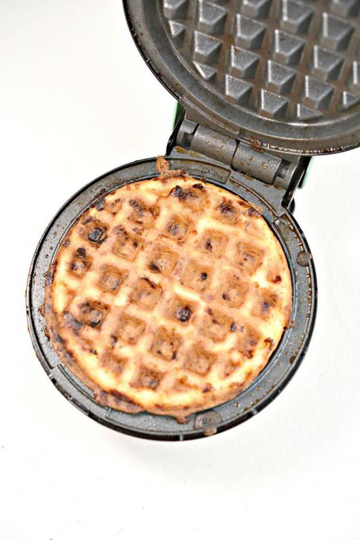 Weight Watchers Waffle Pizza