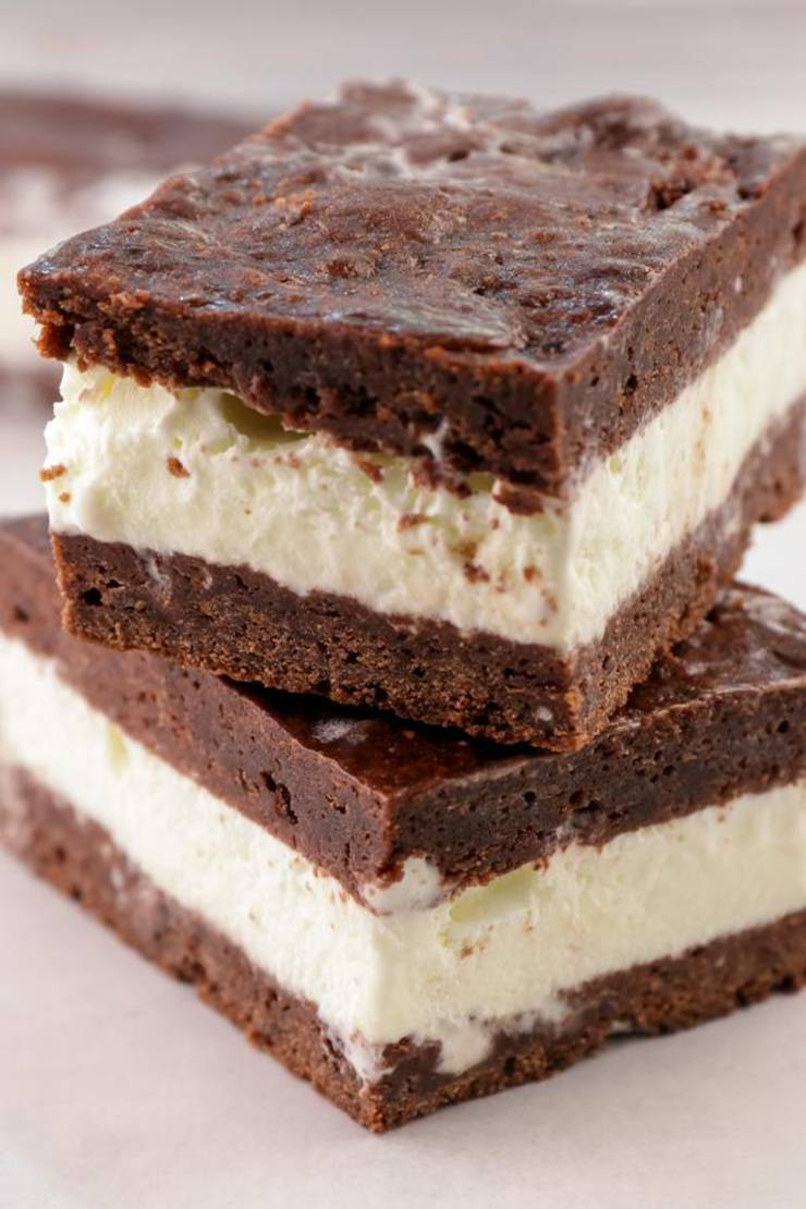 Keto Ice Cream Sandwich – BEST Chocolate Brownie Ice Cream Sandwich Recipe – {Easy} NO Sugar Gluten Free Low Carb Recipe – Desserts – Snacks