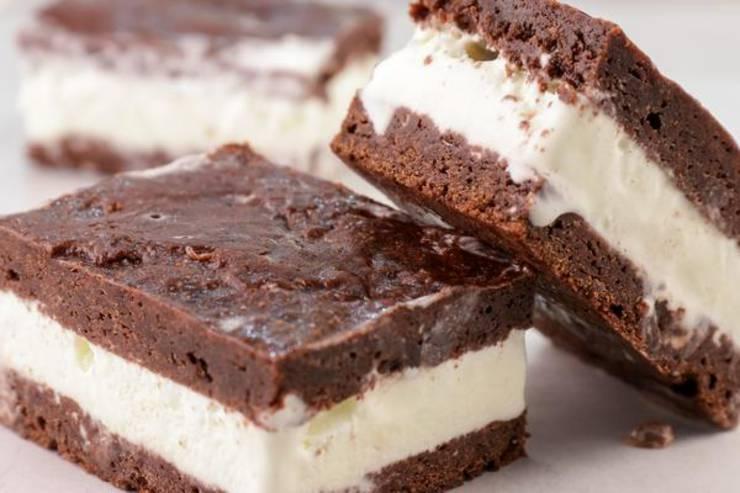 Keto Ice Cream Sandwich – BEST Chocolate Brownie Ice Cream Sandwich Recipe – {Easy} NO Sugar Gluten Free Low Carb Recipe – Desserts – Snacks