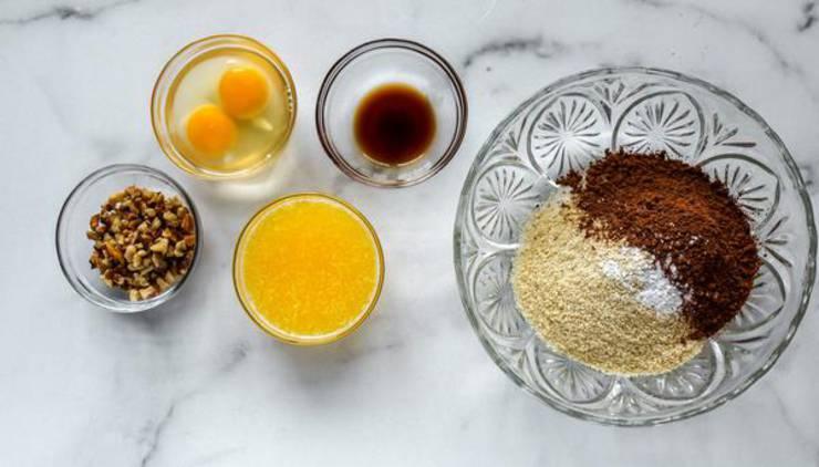 Keto Brownie Mini Muffins