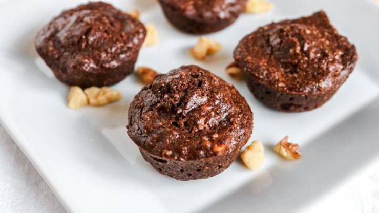 Keto Muffins! BEST Low Carb Mini Chocolate Brownie Muffin Idea – Quick & Easy Ketogenic Diet Recipe – Snacks - Desserts - Breakfast - Keto Friendly