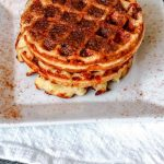 BEST Keto Chaffles! Low Carb Churro Chaffle Idea – Homemade – Quick & Easy Ketogenic Diet Recipe – Completely Keto Friendly - Snacks - Desserts - Breakfast