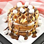 BEST Keto Chaffles! Low Carb Smores Chaffle Idea – Homemade – Quick & Easy Ketogenic Diet Recipe – Completely Keto Friendly - Snacks - Desserts - Breakfast