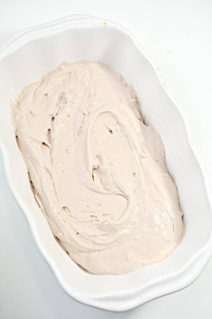 Keto Chocolate Caramel Ice Cream