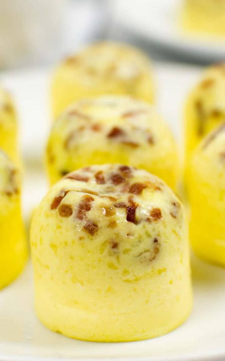 Keto Egg Bites – Super Yummy Low Carb Copycat Starbucks Egg Bites Recipe – Sous Vide Mini Egg Bites - Instant Pot For Ketogenic Diet