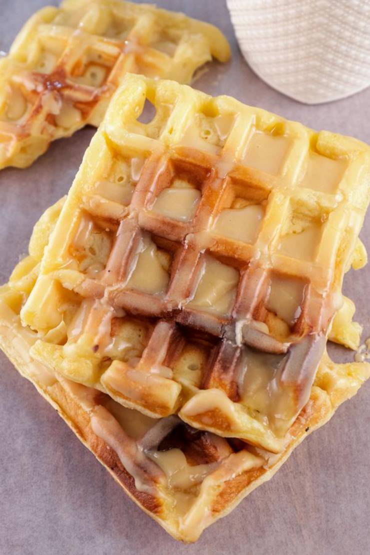 BEST Keto Donut Waffles! Low Carb Keto Glaze Donuts Waffle Idea – Quick & Easy Ketogenic Diet Recipe – Completely Keto Friendly