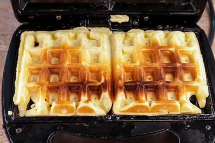 Keto Glaze Donut Waffles