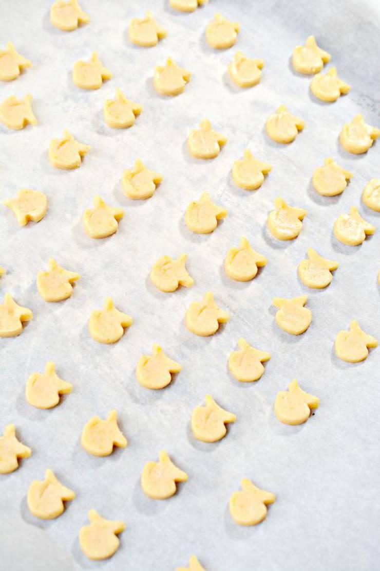 Keto Goldfish Crackers