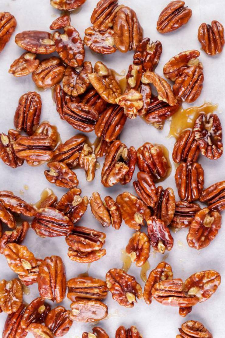 BEST Keto Pecans! Low Carb Keto Maple Brown Sugar Coated Pecans Idea – Candied Sugar Free – Quick & Easy Ketogenic Diet Recipe – Completely Keto Friendly