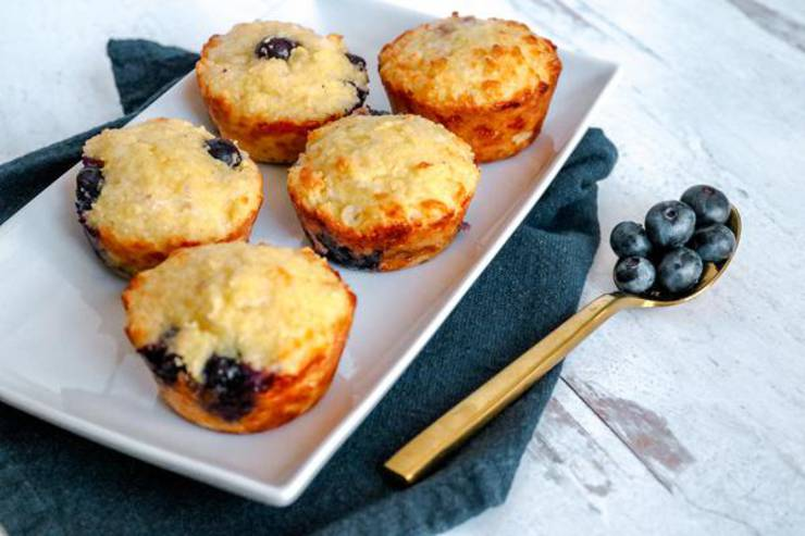 BEST Keto Muffins! Low Carb Mini Blueberry Muffins Idea – Homemade – Quick & Easy Ketogenic Diet Recipe – Completely Keto Friendly