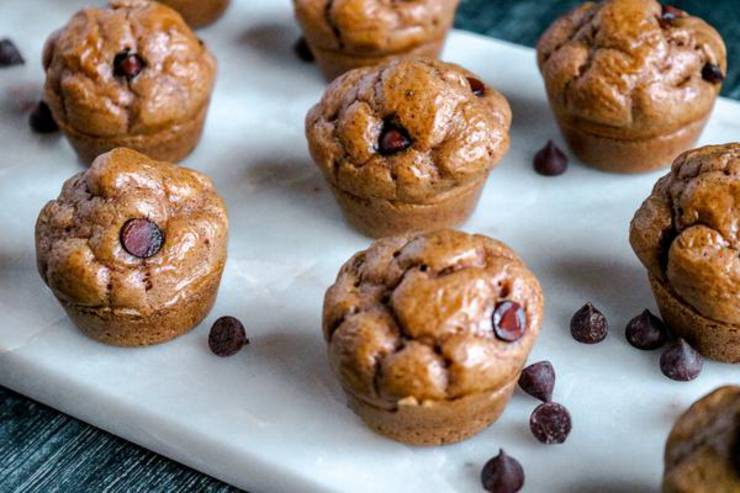 5 Ingredient Keto Cookie Dough Muffins! BEST Low Carb Keto Mini Cookie Dough Muffin Idea – Quick & Easy Ketogenic Diet Recipe – Beginner Keto Friendly – Breakfast – Desserts - Snacks