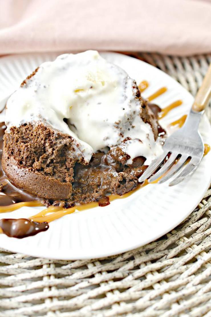 Keto Chocolate Cake – BEST Low Carb Keto Molten Lava Cake Recipe Copycat Chili's Idea – Easy – Desserts – Snacks – Keto Friendly & Beginner