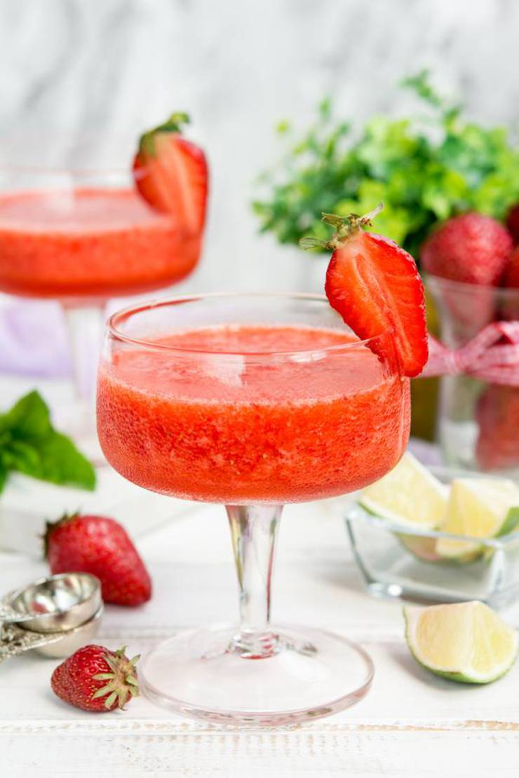 Keto Daiquiri Best Low Carb Strawberry Daiquiri Recipe Easy Ketogenic Diet Alcohol Drink Mix You Will Love