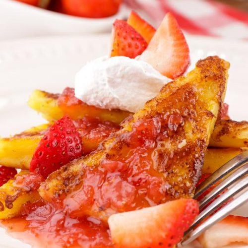 keto-strawberry-french-toast