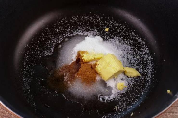Keto Vanilla Cinnamon Candied Pecans