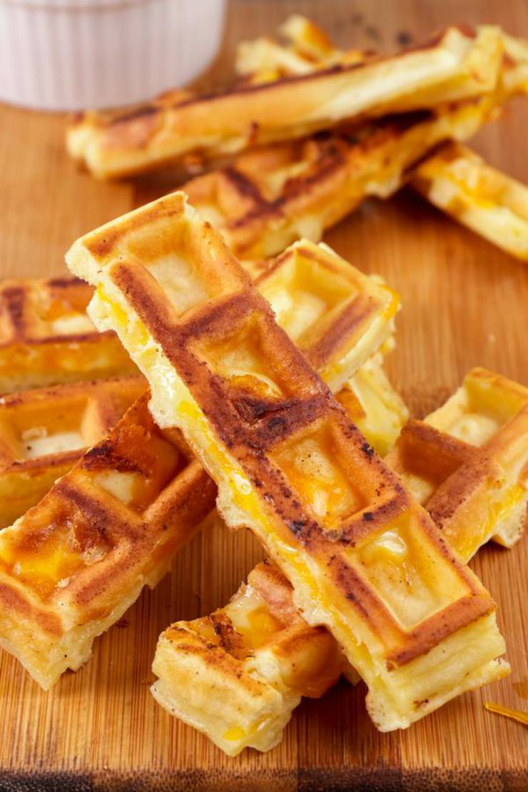 BEST Keto Grilled Cheese Sticks – Low Carb Keto Grilled Cheese Recipe – Waffle Sticks For Easy Ketogenic Diet - Waffle Maker Idea