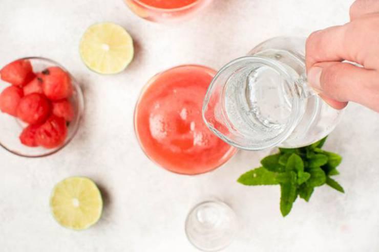 Keto Watermelon Cocktail