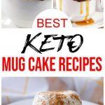 5 Keto Mug Cake Recipes – BEST Low Carb Keto Mug Cakes Ideas – Easy Ketogenic Diet Snacks – Breakfast – Desserts – Snacks