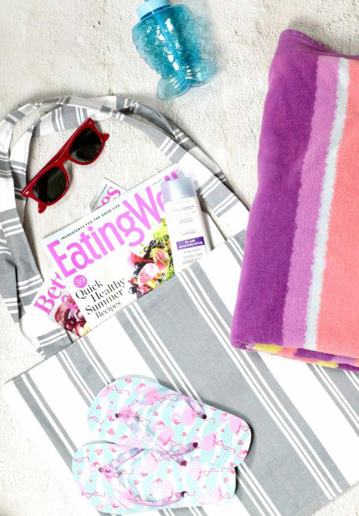 DIY Tote Bag! EASY Tote Bag Pattern - Learn How To Make A Tote Bag - Dollar Tree Hacks - Under $5 Dollar Dollar Store Tote Bag Tutorial - Sewing Project