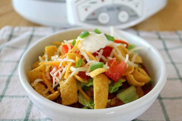 Fritos Taco Salad Crock Pot