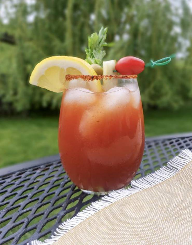 Keto Bloody Mary – BEST Low Carb Bloody Mary Recipe – EASY Ketogenic Diet Vodka Alcohol Drink Mix You Will Love