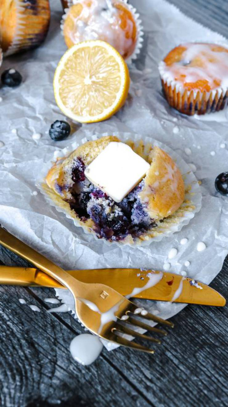 Keto Muffins! BEST Low Carb Lemon Blueberry Muffin Idea – Quick & Easy Ketogenic Diet Recipe – Snacks – Desserts – Breakfast – Keto Friendly