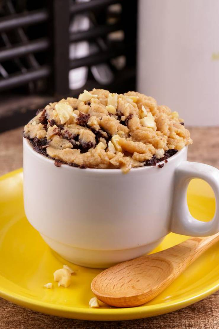 BEST Keto Mug Cakes! Low Carb Microwave Chocolate Butterfinger Idea – Quick & Easy Ketogenic Diet Recipe – Completely Keto Friendly Baking