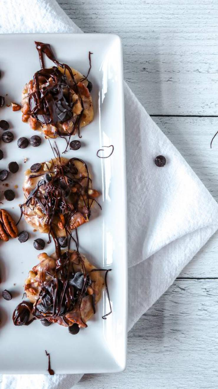 BEST Keto Pecans! Low Carb Keto Chocolate Caramel Coated Pecans Idea – Candied Sugar Free Pecan Clusters – Quick & Easy Ketogenic Diet Recipe – Completely Keto Friendly