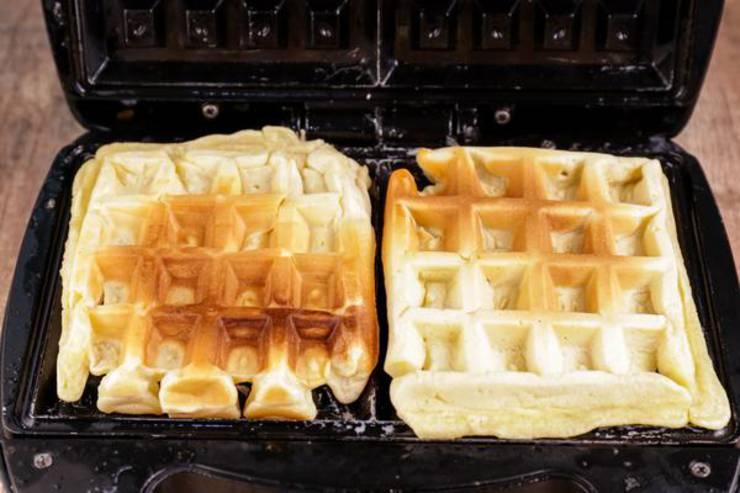 Keto Caramel Waffles