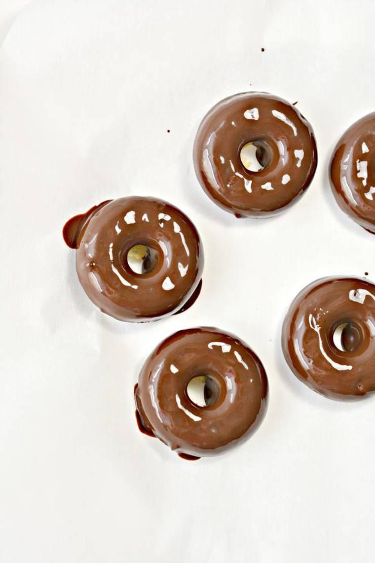 Keto Copycat Hostess Chocolate Donuts - Mini Donettes