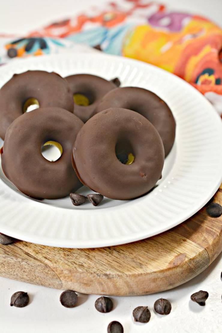 Keto Mini Donuts – Super Yummy Low Carb Copycat Hostess Chocolate Mini Donettes Recipe - Chocolate Treats For Ketogenic Diet – Desserts – Snacks - Breakfast