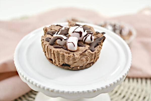 Keto Cheesecake – BEST Low Carb Keto Rocky Road Chocolate Cheesecake Bites – No Bake Easy – Snacks – Desserts – Gluten Free - Sugar Free