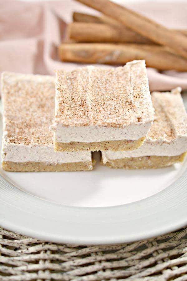 Keto Cheesecake! BEST Low Carb Keto Snickerdoodle Cheesecake Bars Idea – {EASY} Quick Ketogenic Diet Recipe – Gluten Free Keto Friendly & Beginner – Desserts – Snacks