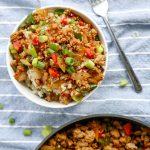 EASY Keto Teriyaki Bowls! Low Carb Ground Turkey Teriyaki Bowl Recipe – Quick – Healthy – BEST Ketogenic Diet Dinner - Lunch