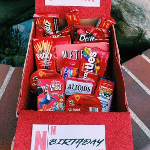Care Package Easy Diy Care Package Ideas Homemade Gift Box Presents Boyfriend Girlfriend Best Friends Creative