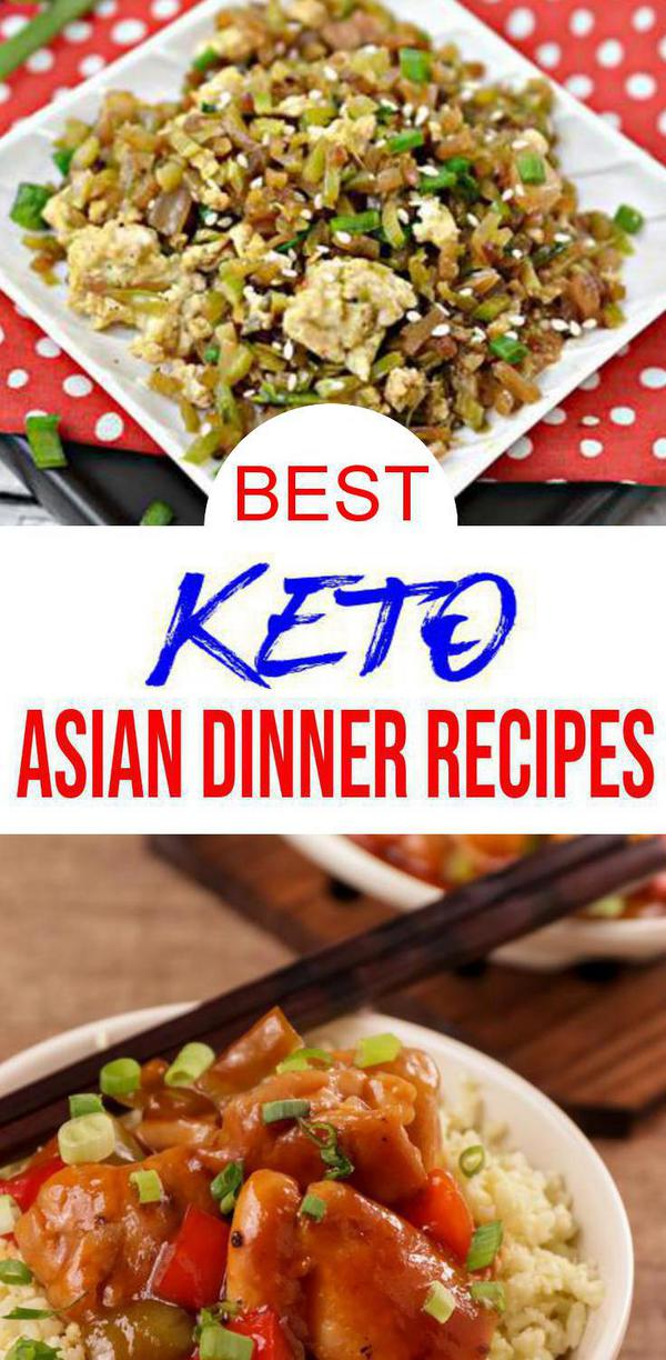 9 Keto Asian Dinner Recipes – BEST Low Carb Keto Asian Food Ideas – Easy Ketogenic Diet Lunch – Dinner – Side Dishes