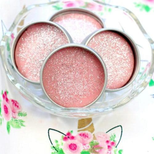 DIY Lip Gloss – Unicorn Lip Gloss Idea {Easy} Glitter Fruity Pebbles Lip Balm Recipe – How To Make Lip Gloss