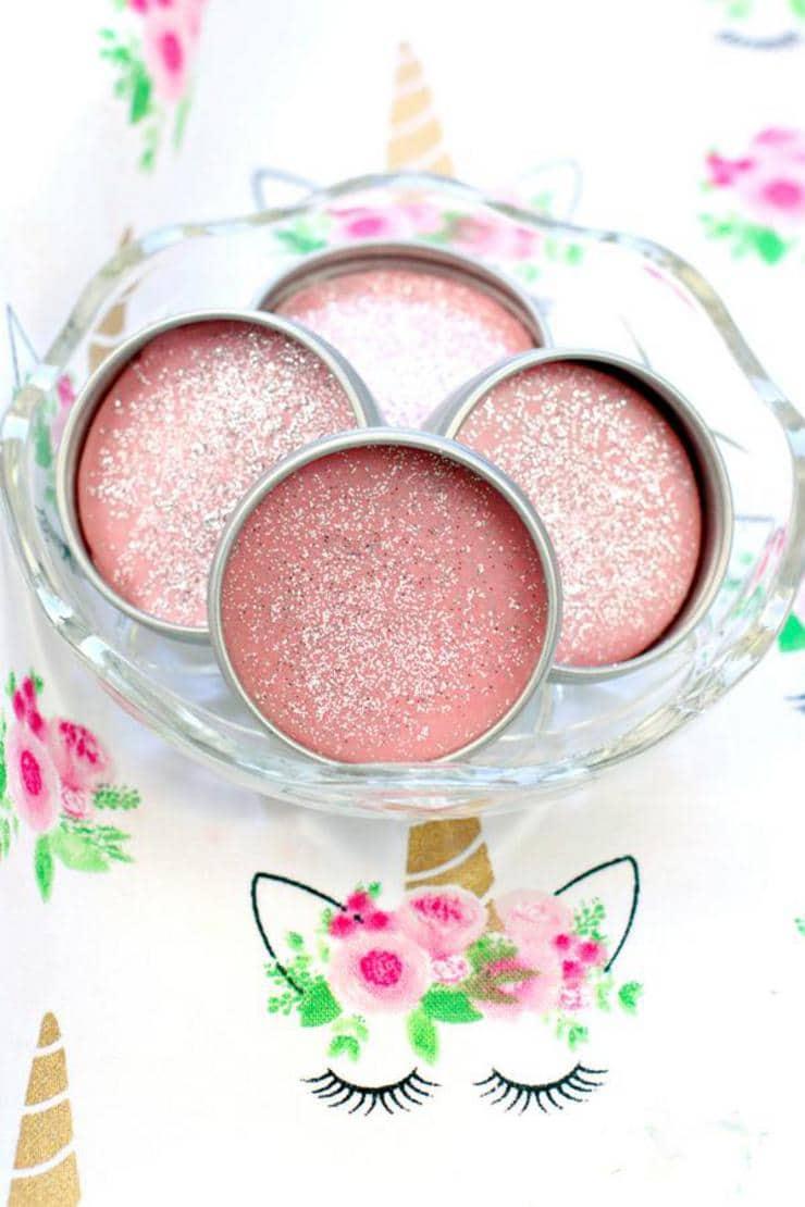 DIY Lip Gloss – Unicorn Lip Gloss Idea {Easy} Glitter Fruity Pebbles Lip Balm Recipe – How To Make Lip Gloss  #diy #lipgloss #lipbalm #beauty