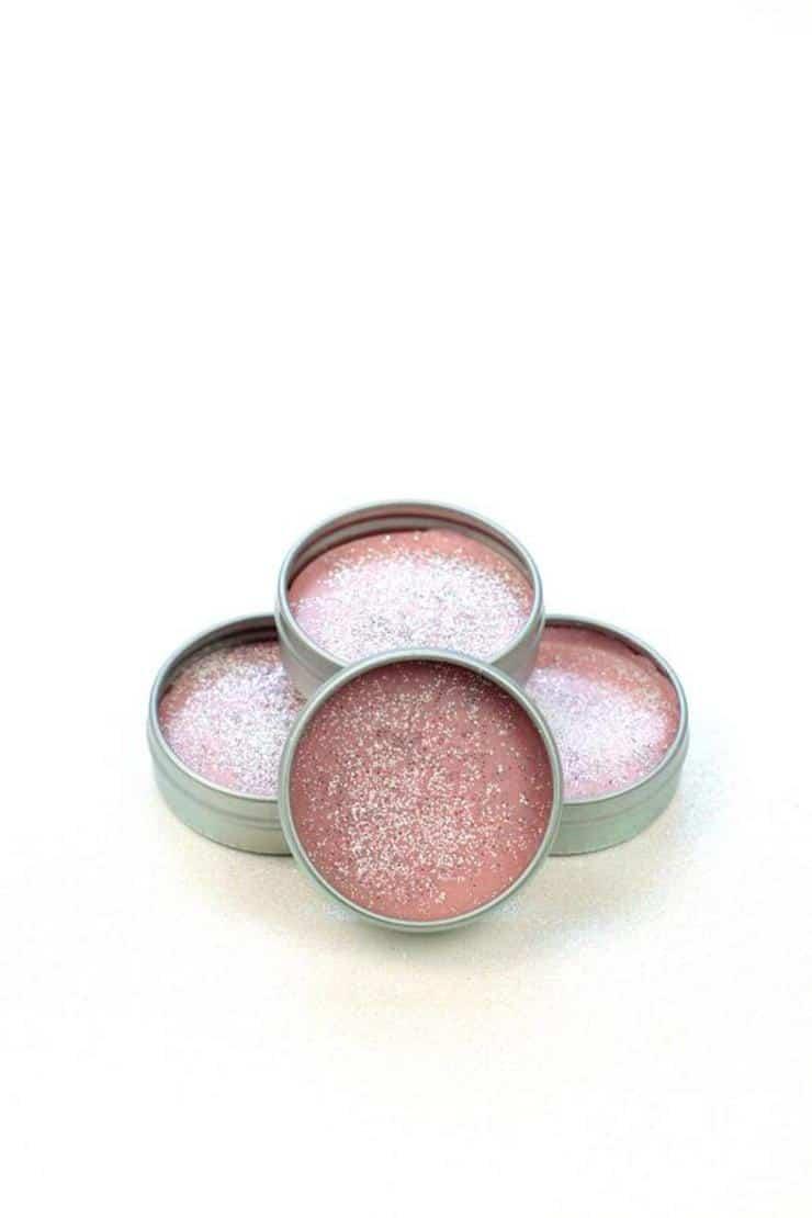 DIY Lip Gloss – Unicorn Lip Gloss Idea {Easy} Glitter Fruity Pebbles Lip Balm Recipe – How To Make Lip Gloss
