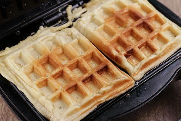 Keto Banana Bread Waffles