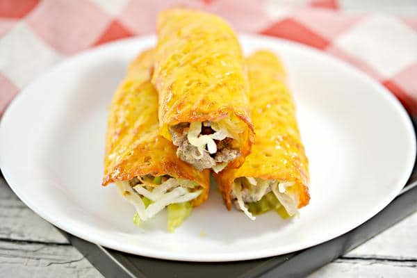 Keto Low Carb Big Mac Wraps – Ketogenic Diet Recipe Ground Beef Big Mac Sauce Roll Ups – Appetizers – Side Dish – Lunch – Dinner – Completely Keto Friendly & Beginner