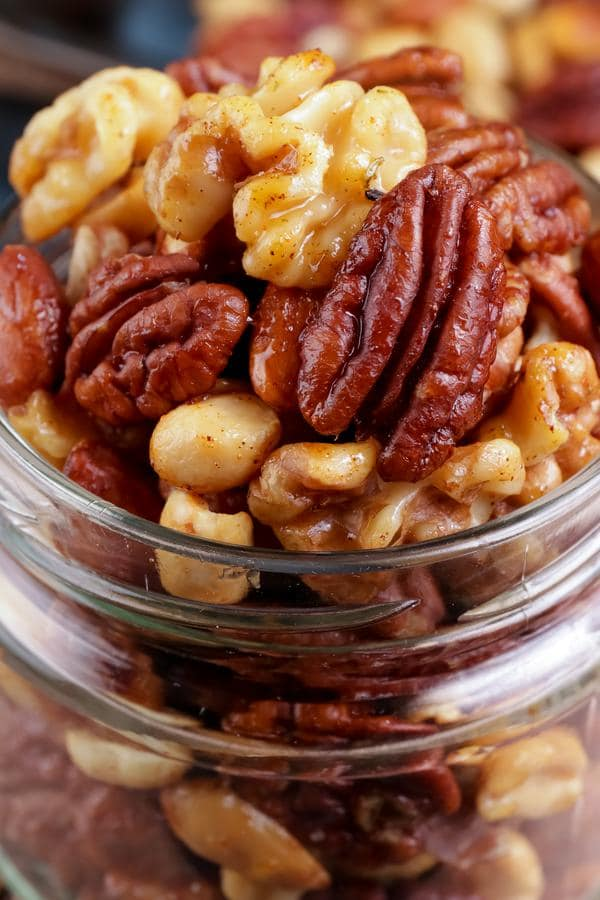 Keto Trail Mix – BEST Low Carb Keto Candied Cajun Trail Mix Recipe – Easy – Snacks – Appetizers – On The Go - Keto Friendly & Beginner