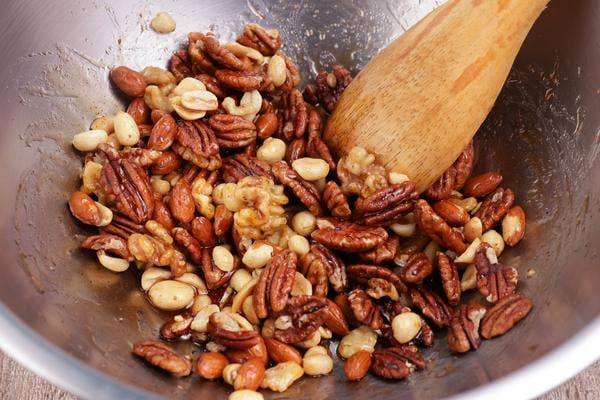 Keto Candied Cajun Trail Mix