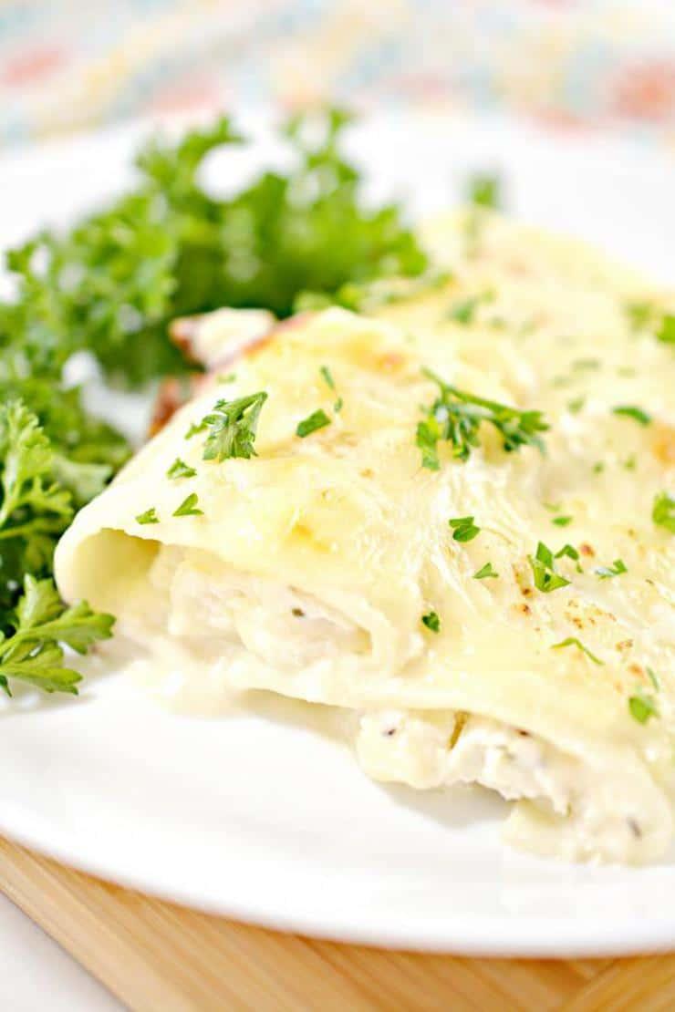 BEST Keto Lasagna – Low Carb Keto Pasta Lasagna Chicken Alfredo Roll Ups Recipe – Quick and Easy Ketogenic Diet Idea – Beginner Keto Friendly – Snacks – Appetizers – Lunch – Dinner