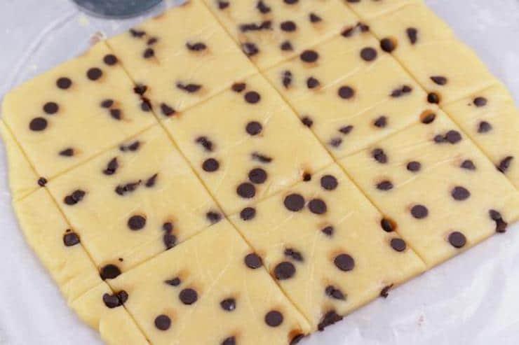 Keto Chocolate Chip Pop Tarts
